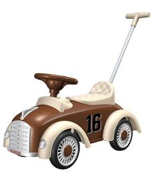 EZ' Playmates Classic Car Ride On With Navigator - Brown
