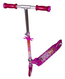 Cosmic Zoomer LED 2 Wheels Kids Scooter - Pink