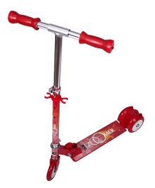 Cosmic Zoomer LED 3 Wheels Kids Scooter - Red