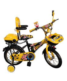 HLX-NMC Bicycle 14 Car-X - Yellow And Black