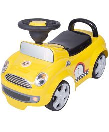 EZ' Playmates Time Ride On Cooper Car - Yellow