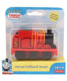 Fisher Price Thomas And Friends James Engine Toy - Red