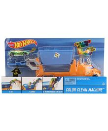 Hot Wheels Color Clean Machine - Orange
