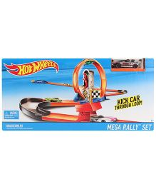 Hot Wheels Kick Through Loop Track Set