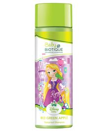 Baby Biotique Disney Princess Rapunzel Bio Green Apple Tearproof Shampoo - 190 ml