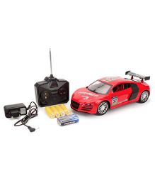 Kumar Toys Remote Control 32 Print Car Toy - Red