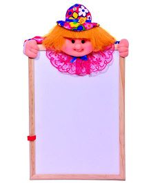 A2B White Board With Soft Toy - Light Brown