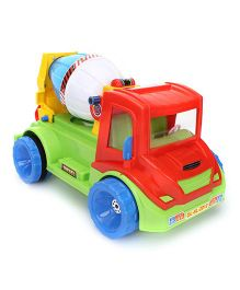 Luvely Sam Cement Mixer Toy Truck - Red Green