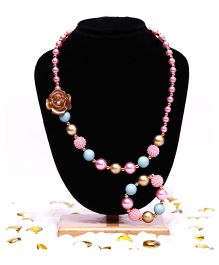 D'chica Symphony Of Beads & Flowers Jewelry Set - Multicolor
