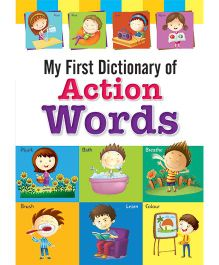 Macaw My First Dictionary of Action Words - English
