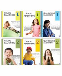 Macaw Reasoning Level 1 And Level 2 Set of 6 Books - English