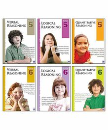 Macaw Reasoning Level 5 And Level 6 Set of 6 Books - English