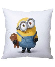Stybuzz Minions Cushion Cover - White