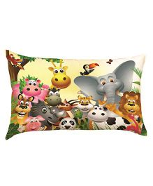 Stybuzz Jungle Book Baby Pillow - Multi Color