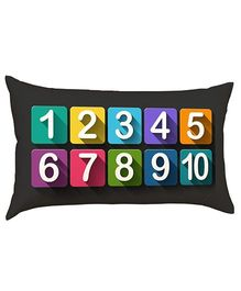 Stybuzz Learn Numbers Baby Pillow - Black