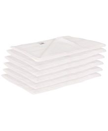 Lula Muslin Napkins Set of 6 - White