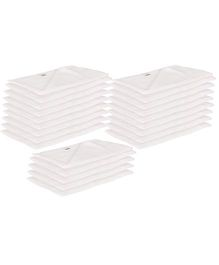 Lula Muslin Napkins Set of 25 - White