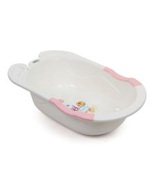 Babyhug Baby Bath Tub Take A Shower Print - Cream