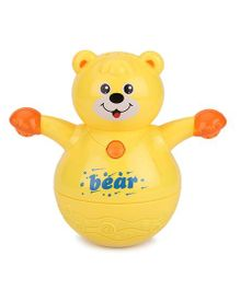 Kumar Toys Roly Poly Animal World Tumbler Bear Toy - Yellow