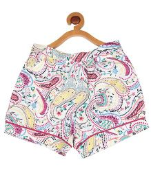 My Lil' Berry Printed Shorts - Multi Color