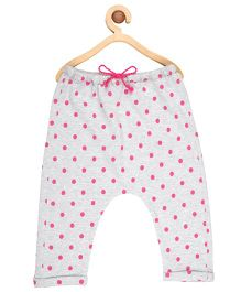 My Lil' Berry Pajama Polka Dots Print - Grey