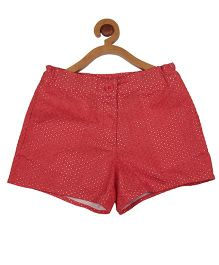 My Lil' Berry Shorts Hakoba Work - Red
