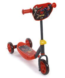 Smoby Batman Vs Superman Scooter 3 wheel - Red