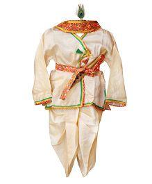BownBee Kanhaiya Suit Set - Off White