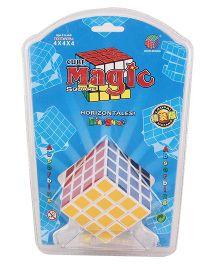 Smile Creation 4 x 4 x 4 Magic Cube - Multi Color