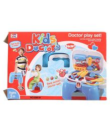 Smiles Creation Portable Doctor Play Set - Blue