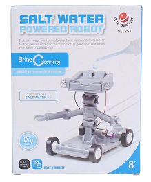 Smiles Creation Electricity Salt Water Powered Robot Toy