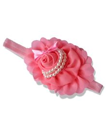 Little Miss Cuttie Stylish Headband - Pink