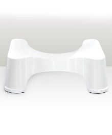 Squatty Potty Healthy Colon Happy Life Step Stool - White