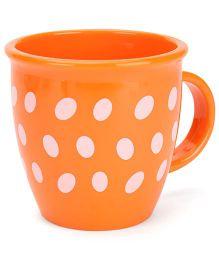 Baby Mug Polka Dot Design Orange - 350 ml