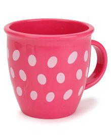 Baby Mug Polka Dot Design Pink - 350 ml