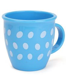 Baby Mug Polka Dot Design Light Blue - 350 ml