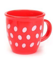 Baby Mug Polka Dot Design Red - 350 ml