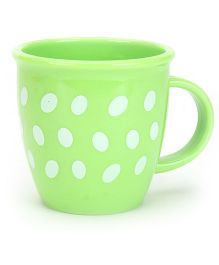 Baby Mug Polka Dot Design Green - 350 ml