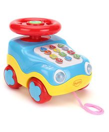 Mitashi SkyKidz Learning Car Musical Toy - Blue