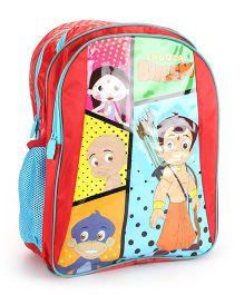 Chhota Bheem School Backpack Red - 14 inches