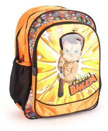 Chhota Bheem School Backpack Orange - 18 inches