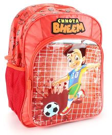 Chhota Bheem School Backpack Red - 14 inches