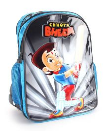 Chhota Bheem School Backpack Blue - 16 inches