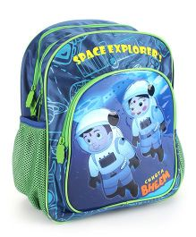 Chhota Bheem Space Explorers Backpack Blue - 14 inches