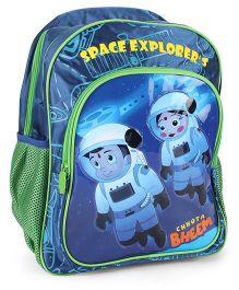 Chhota Bheem School Bag Blue - 16 Inches