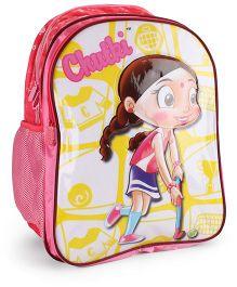Chutki School Bag Dark Pink - 18 Inches