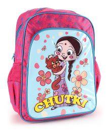 Chhota Bheem School Backpack Pink - 16 inches