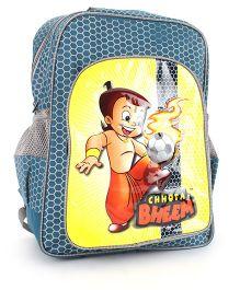 Chhota Bheem School Backpack Blue - 14 inches