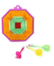Funworld Bull's Eye Dart Game - Multicolor
