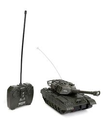 Classic Remote Controlled Tank Toy - Black